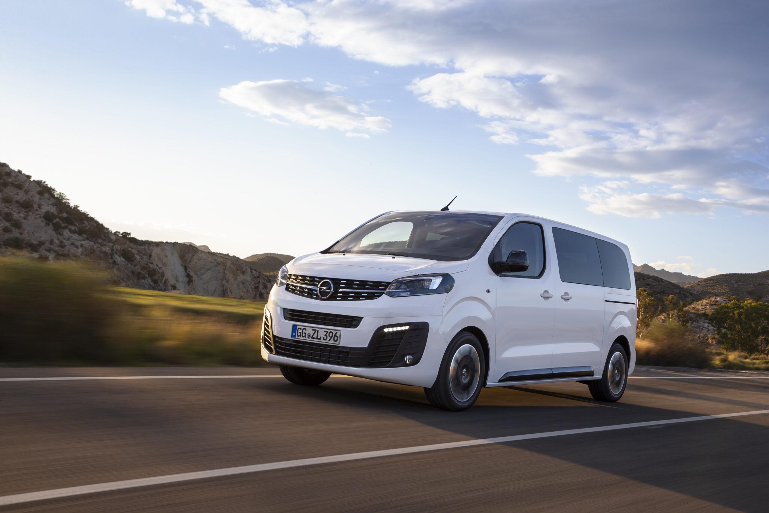 Opel zafira/vivaro L2